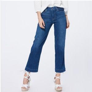 Paige Transcend Nellie High Rise Culotte Jeans 26